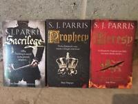 S. J. Parris historical fiction booms