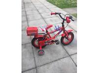 12 inch fire man bike