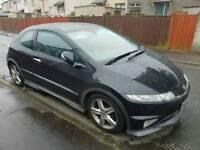 Honda civic type s gt 08 1.8 petrol. Tlc needed..swap van