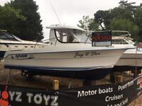 BOAT CUDDY/CRUISER/FISHER ARVOR 20 DEISEL ON SHAFT