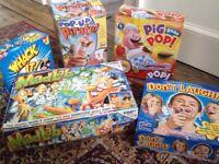 Board Games Bundle Job Lot Pig Goes Pop - Don't Laugh-Mad Lab