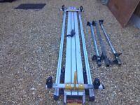 Rhino safe stow tilting ladder rack ex lwb transit