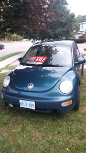 Well-maintained Volkswagen Beetle for sale!