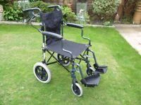wellhome folding wheelchair