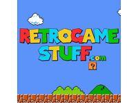 Retro games and accessories