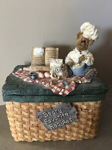 Boyds Bears Collectable Recipe Card Holder