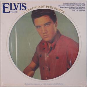 Elvis Presley Limited Edition LP Picture Disc Framed