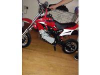 49 cc orion mini dirtbike
