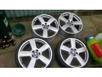Audi 19inch alloys