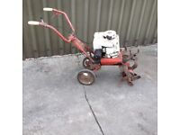 Petrol 5 HP cultivator /rotavator turns over but non starter spares or repairs hence price