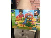 Gone pending pickup. Vtech Toot toot animals Farm. New in box