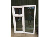 New double glazed PVC window