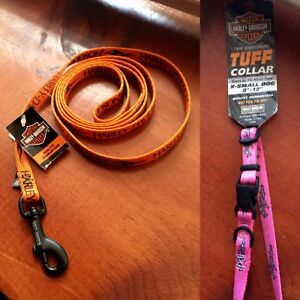 Never used collars, leads, harnesses