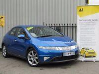 Honda Civic 1.8 I-VTEC EX (blue) 2006