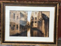 For Sale Venice Scene Painting