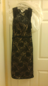 Brand new lace dress, never worn with tags