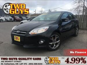 2013 Ford Focus SE LEATHER SUN ROOF BIG MAGS