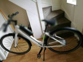 Gtech battery powered bicycle