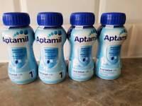 4 Aptamil First Infant Milk 200ml
