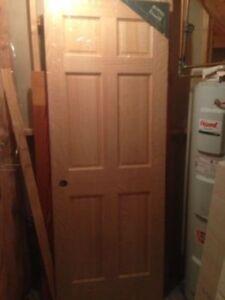 Belle Porte flambant neuve BOIS-New wooden door