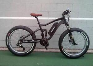 SALE Dual Suspension electric fat Bike
