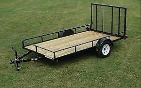 Looking for utility trailer