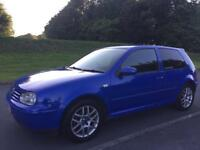2002 VW GOLF GTI 2.0 MK4 VERY RARE 12 MONTHS MOT DRIVES GREAT *BARGAIN* GT tdi 130 150