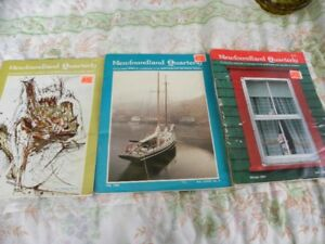 Vintage newfoundland Quarterly Magazines