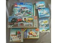 Lego vintage boxes - empty