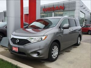 2011 Nissan Quest S, 7 passenger, under floor storage