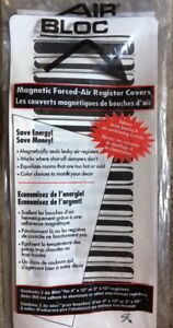 brand new item. Magnetic forced air register covers