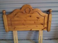 Pine Headboard for Single Bed
