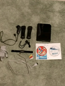 Nintendo Wii everything you need + two games