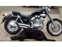 Yamaha Virago 535 in as new condition. P/ex for hon/yam/suz/kawa 125 considered