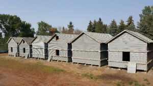Storage Sheds/ Metal Clad Wood Buildings to Move