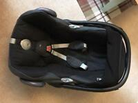 Black Maxi Cosi Car Seat