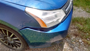 2009 Blue Ford Focus for sale