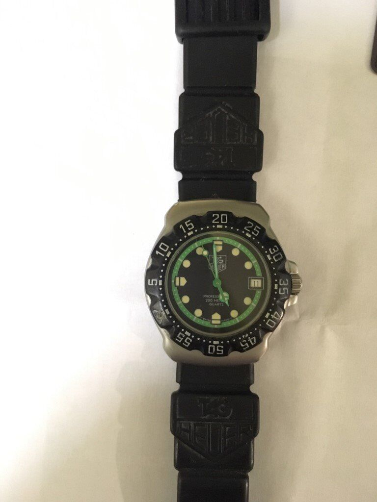 Tag heuer wa1215 formula 1 professional 200m divers watch in oxford oxfordshire gumtree for Tag heuer divers watch
