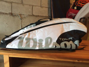 TENNIS BAG - NEVER USED, EXCELLENT CONDITION