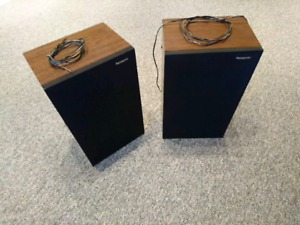 Panasonic bookshelf speakers