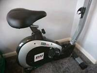 Bh fitness artic dual upright exercise bike with dual concept