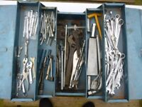 Large box assorted spanners