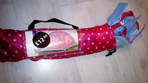 girls pink play tentin Plymouth, DevonGumtree - girls pink play tent in good condition has only been used in doors collection from ernesettle please