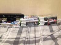 Xbox 360 Kinect and Games Bundle