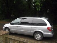 2006 CHRYSLER GRAND VOYAGER DIESEL AUTO TAXED/MOT T/BAR POSS PART X