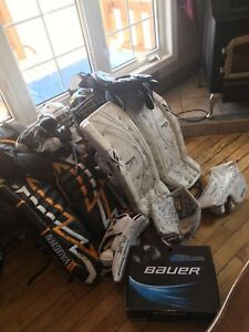 Goalie gear going cheap