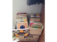 "Over 100 7"" vinyl singles"