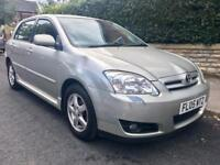 2005 Toyota Corolla Vvti 1.4 ONLY 65k miles. Very Reliable Drives Superb!