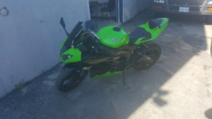 2009 zx6r need gone
