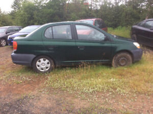 2003 Toyota Echo Green Other
